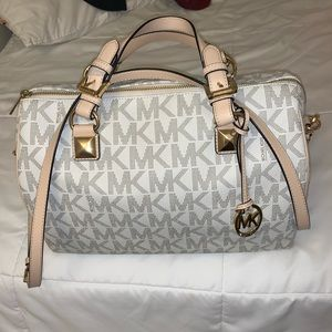 Michael Kors LARGE bag. Very spacious!!